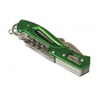 Pocket knife - Green 12 in 1