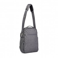 Pacsafe Metrosafe LS250 - shoulder bag, Dark Tweed