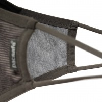 Pacsafe Face Mask Silver Ion, Small, Silver Gray