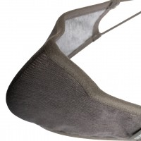Pacsafe Face Mask Silver Ion, Large, Silver Gray