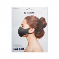 Pacsafe Face Mask Viral Off, Medium, Black