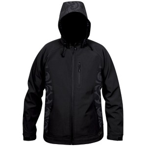 Moa Jacket Soft Shell Nepia, Black., S