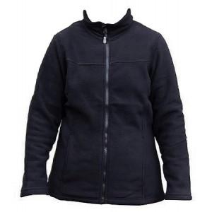 Kiwistuff Fleece Jacket Ivy, Blk -No Fern, S