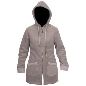 Moa Coat Wool Look Fleece WM, Latte., XS - DNT