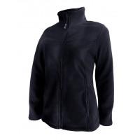 Kiwistuff Fleece Jacket Ivy, Black., S