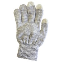 Glove Touch DT7-2, Light Grey, L