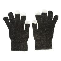 Glove Touch DT7-2, Blk/Silver, L