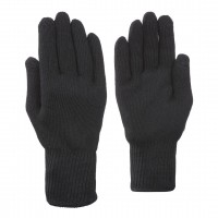 Kombi Glove Polypro Touch Line, Black, Lady