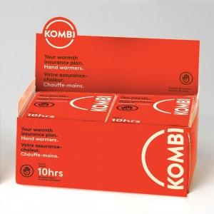 Kombi Hand Warmers Box 40, Red, One