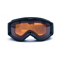 Intrepid Goggles CG0069 Child, Black, Doub