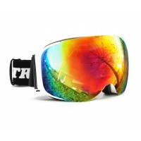 Intrepid Goggles Thunder Adult, White, Sing