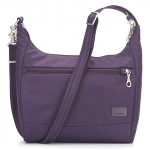 Pacsafe Citysafe CS100 Handbag, .Mulberry, .