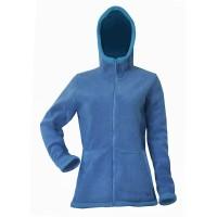 Moa Hoodie Wool Look, Blue, XS