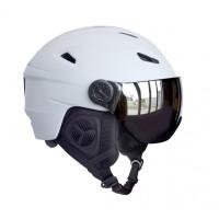 Helmet H05 Adult with Visor, White, S