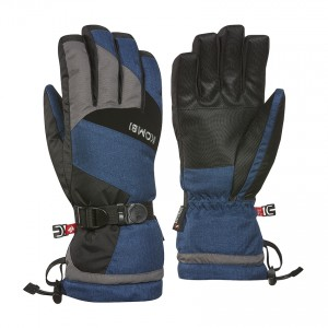 Kombi Gloves Original Men, DkDenimMelan, S