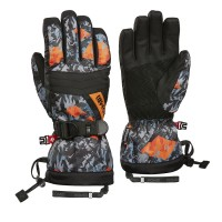 Kombi Gloves Triple Axel Jnr, Asphalt Hill, XS