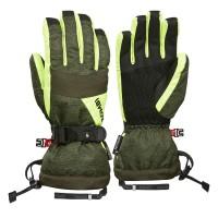 Kombi Gloves Triple Axel Jnr, DkOliveCosmo, XS
