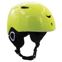 Helmet H02 Kids In Moulded, Lime, S / M