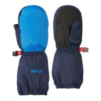 Kombi Mitts Bear Paw Child, Electric Blu, S