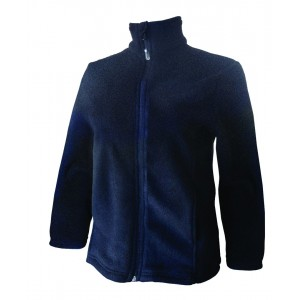 Kiwistuff Fleece Jacket Kea, Black., S
